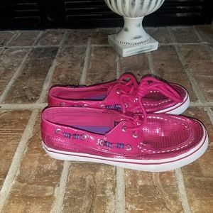 Sperry top siders girls size 3